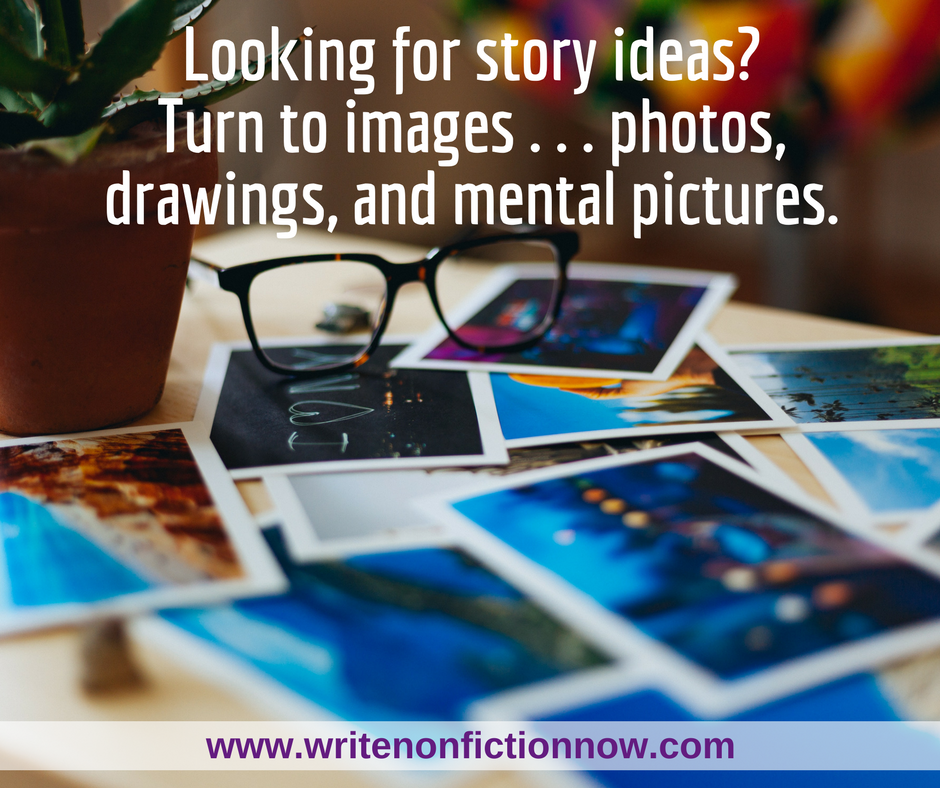 How to Find Story Ideas in Images, Phone Numbers, and Journal Entries