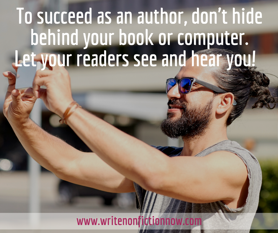 Successful Writers Use Video to Encourage Readers to Know, Like, and Trust Them