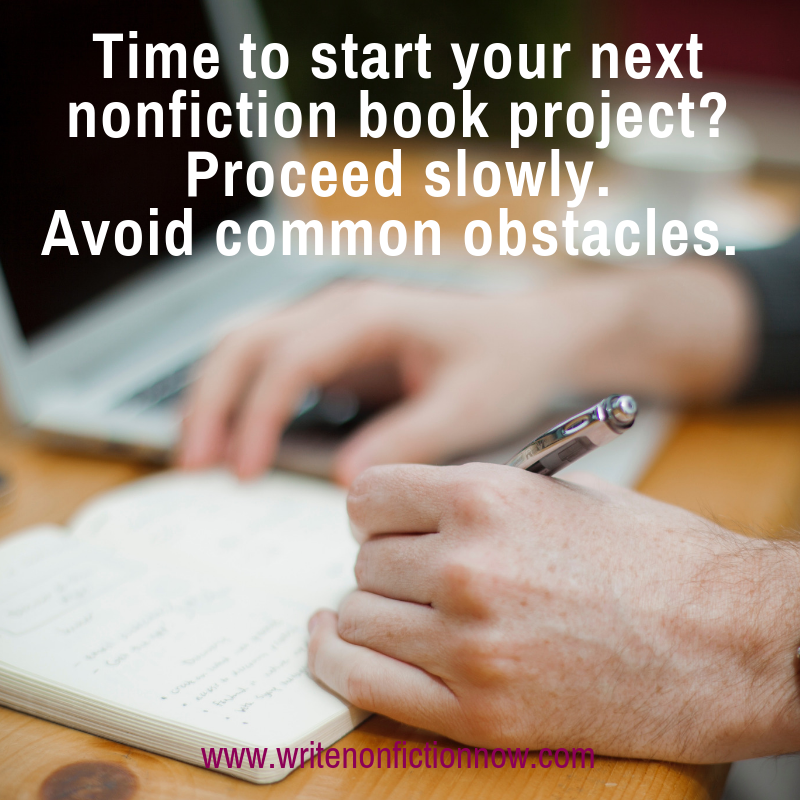 How to Avoid Second Nonfiction Book Project Issues