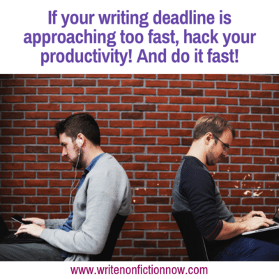 10 Productivity Hacks to Help You Complete a First Draft in 30 Days