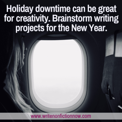 How to Brainstorm New Writing Projects for the New Year