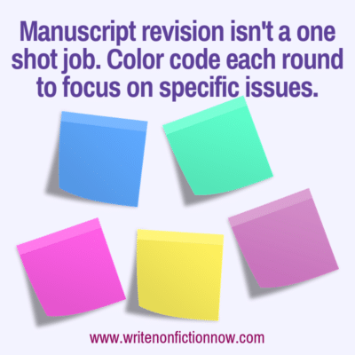 Flag Your Way to Successful Revisions