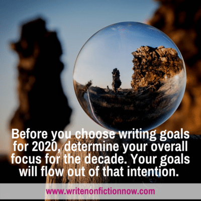 Choose a New Focus for a New Decade Of Nonfiction Writing