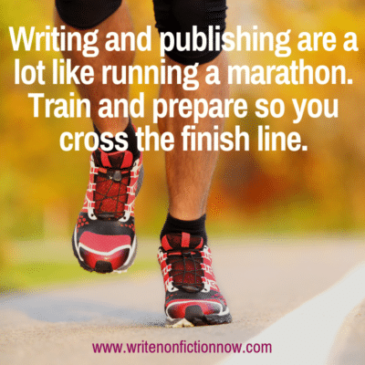 The Writing Marathon: Build Stamina to Cross the Finish Line