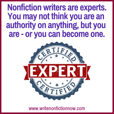 10 Ways to Develop Expert Nonfiction Author Status