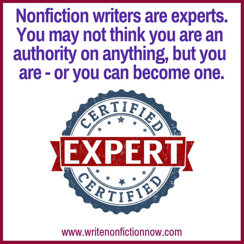 nonfiction expert author