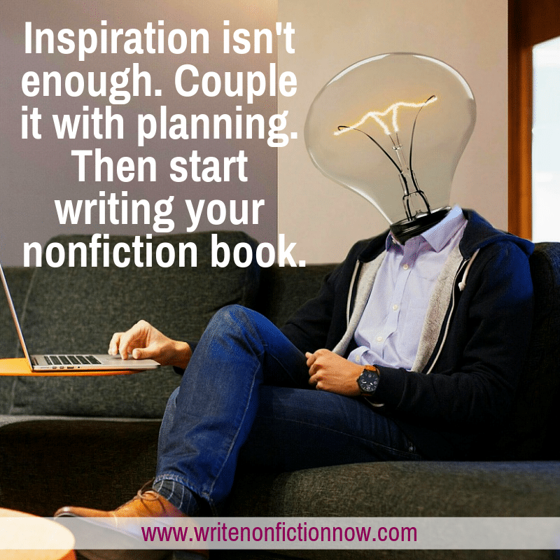 inspiration and planning help you start a nonfiction book project successfully.