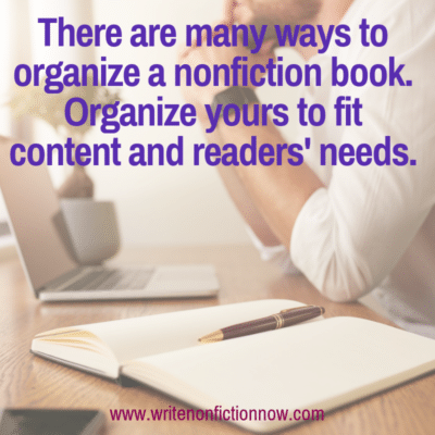 How to Organize Nonfiction Book Content for Maximum Comprehension