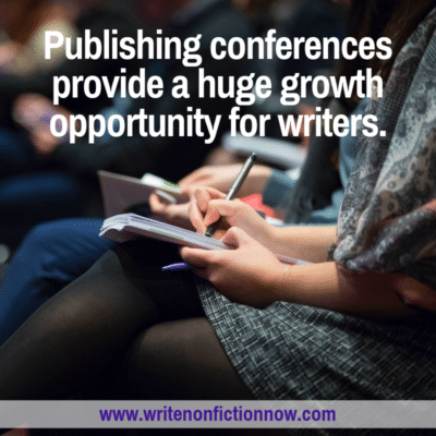 4 Ways Writers Can Profit from a Conference