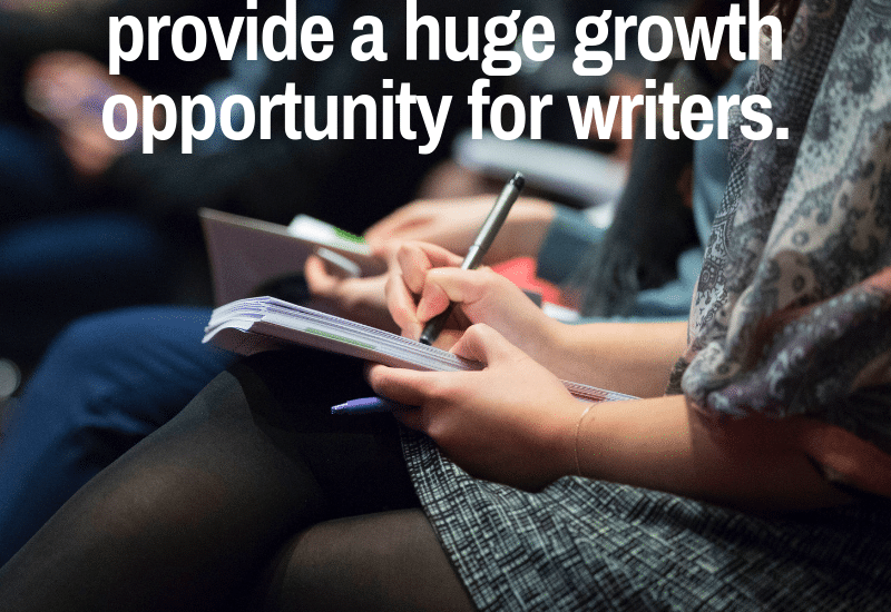 why to attend a writing or publishing conference