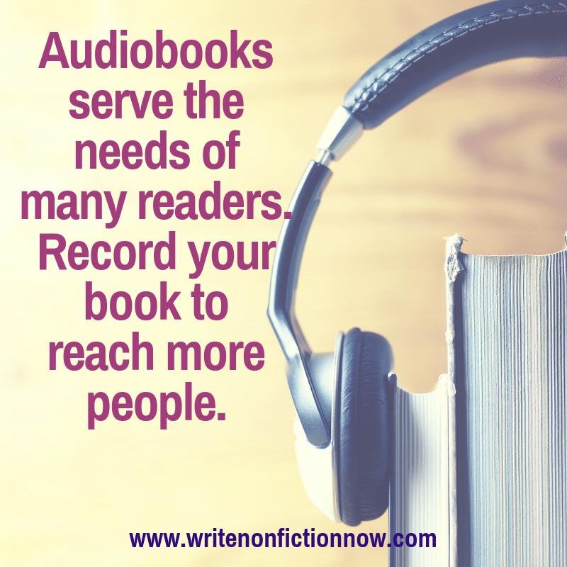 nonfiction audiobook creation