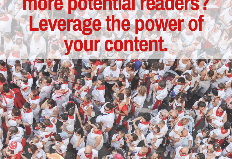 content marketing helps authors reach more readers