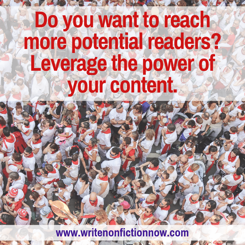 content marketing helps authors reach readers