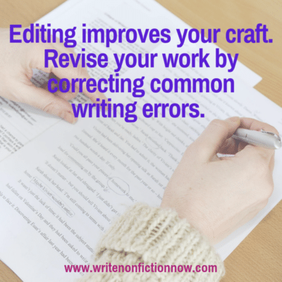 11 Ways to Improve Your Nonfiction Writing