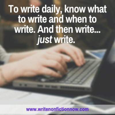 How To Develop A Consistent Daily Writing Practice