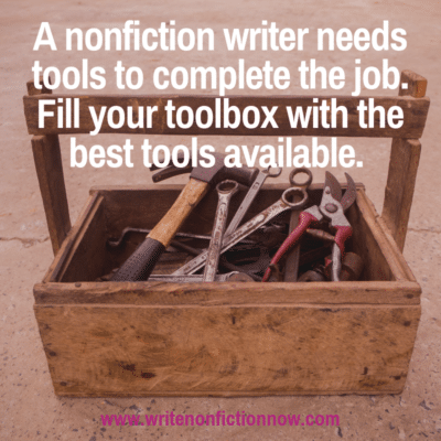 5 Must-Have Tools to Help Nonfiction Authors Through the Publishing Process