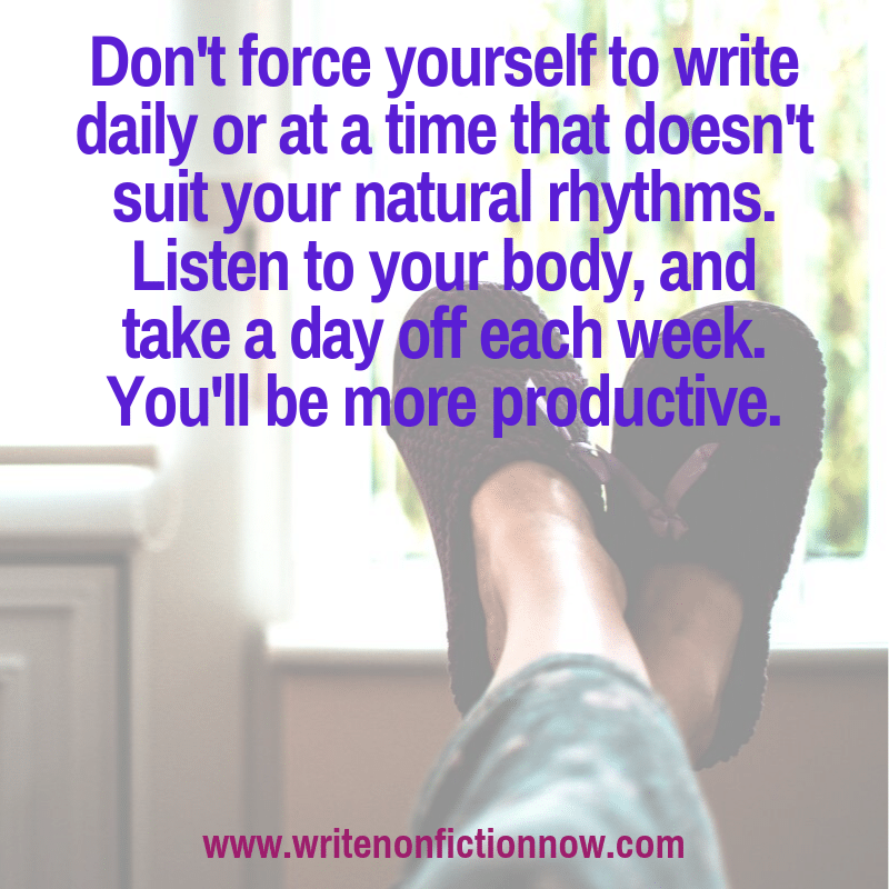 optimize your daiy writing practice