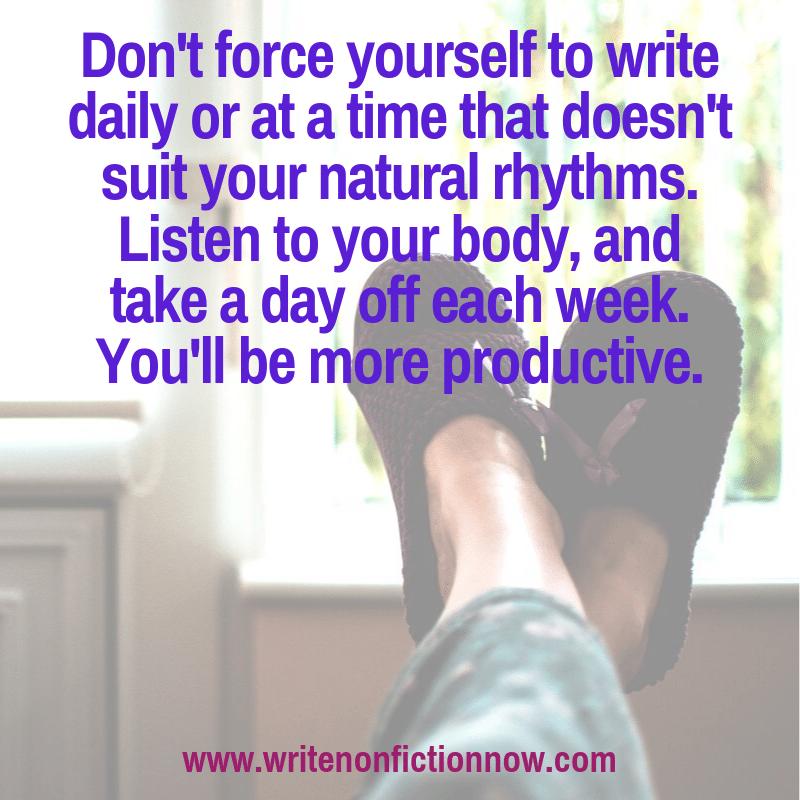 optimisez votre pratique d'écriture quotidienne