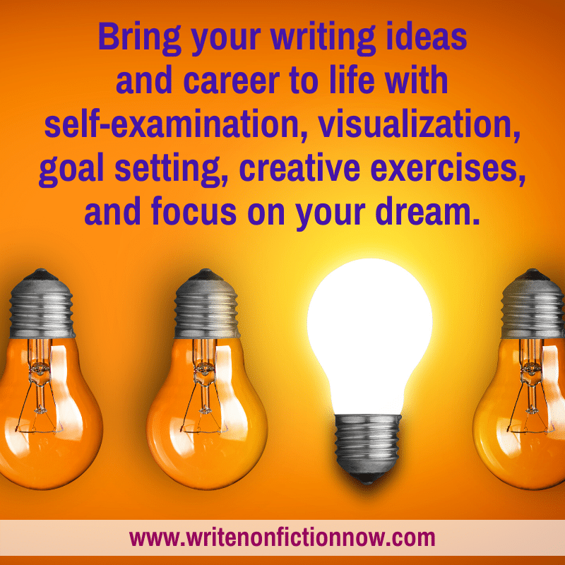 bring your writing ideas and career to life