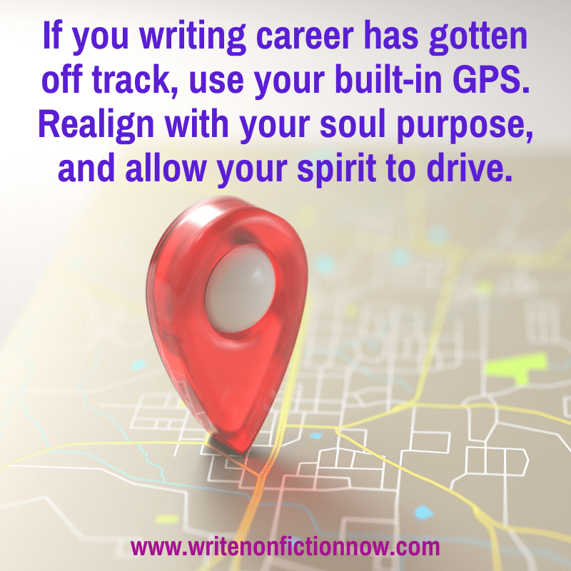 get your writing career back on track