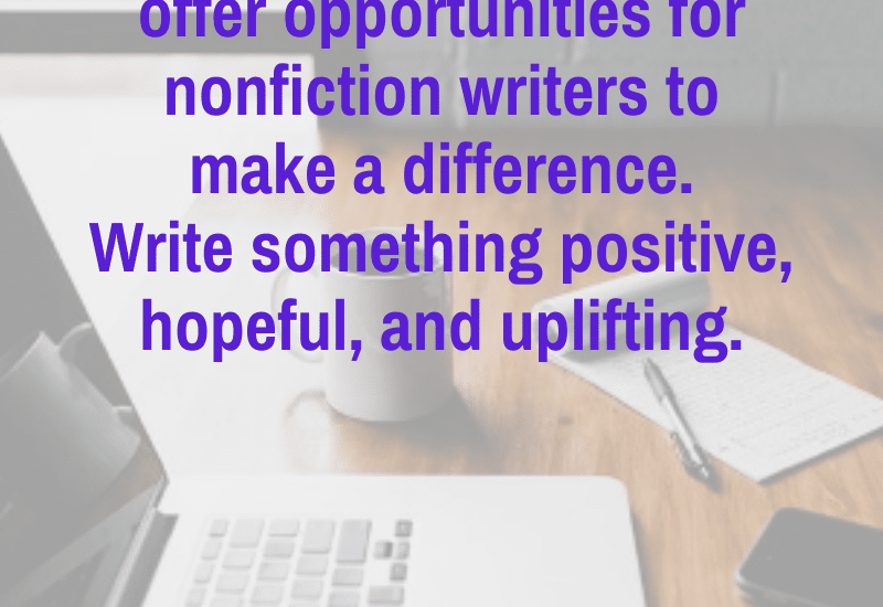 Write a positive and encouraging nonfiction piece during a pandemic