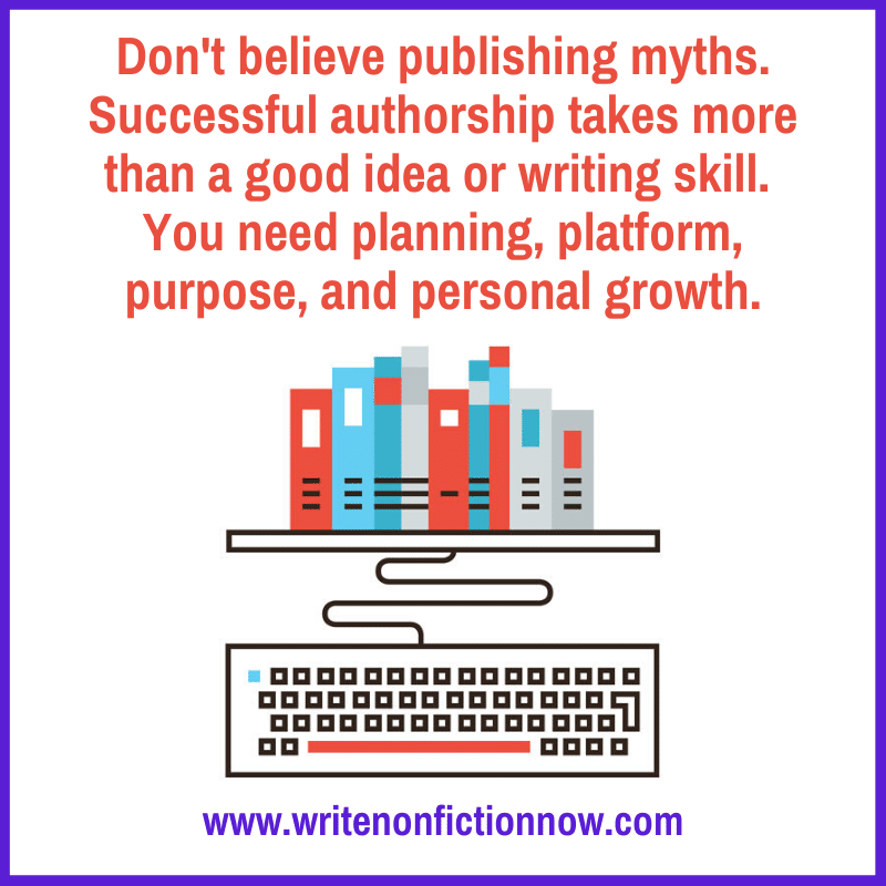 4 publsihing myths - 4Ps of publishing success