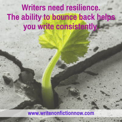 4 Resilience Strategies to Help You Write No Matter What
