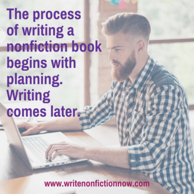 How to Successfully Write a Nonfiction Book (Part 1)