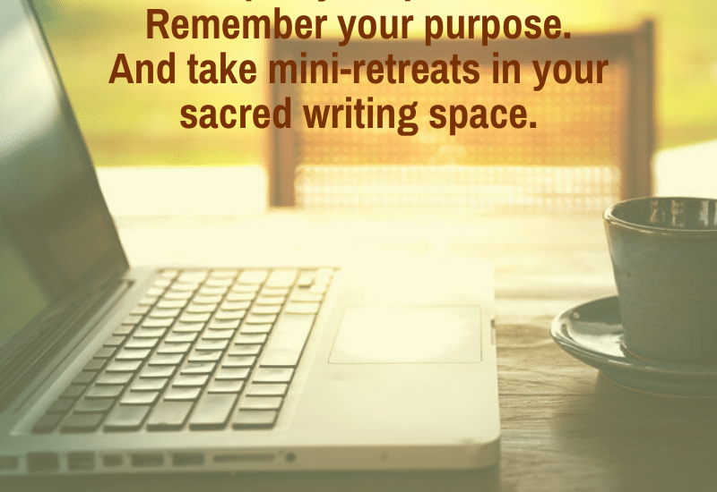 spiriutal practice for nonfiction writers