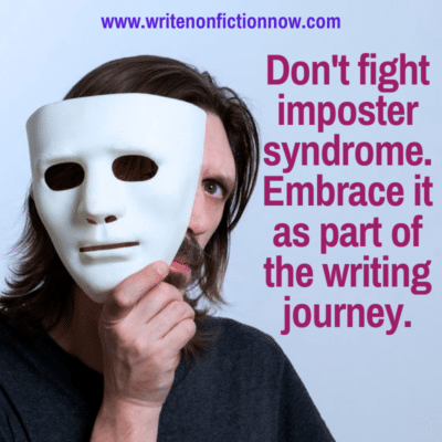 How Writers Can Embrace Imposter Syndrome