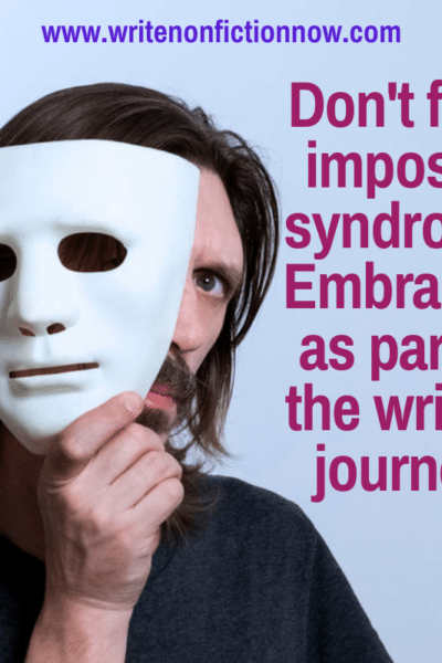 how to overcome imposter syndrome - writers