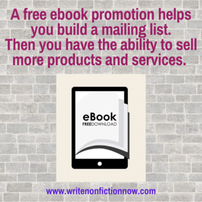 Using BookFunnel and Free Ebooks to Grow your Email List