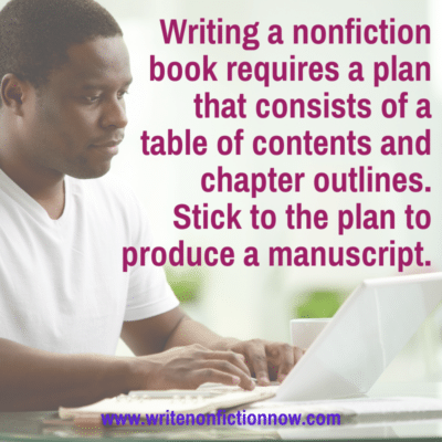 How to Successfully Write a Nonfiction Book (Part 3)