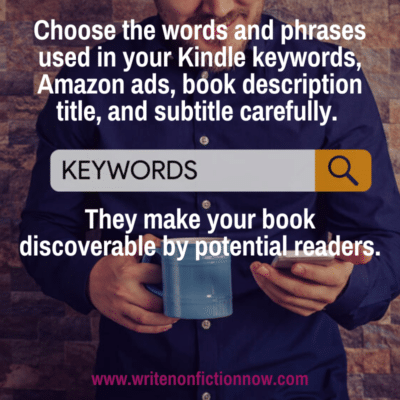 keyword research for Amazon Kindle books