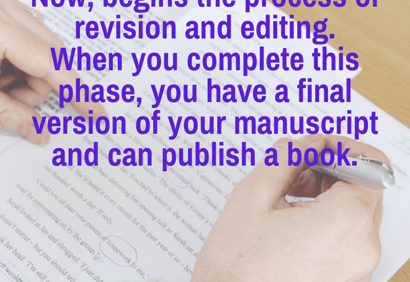 edit and revise your nonfiction book