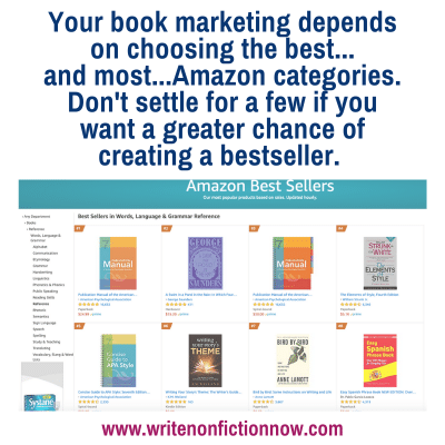 How to Get Your Book into More Amazon Categories