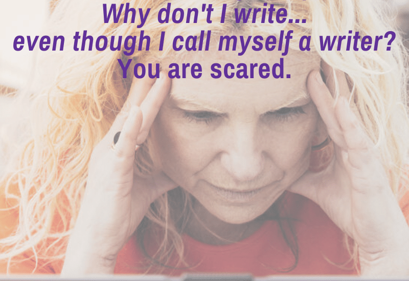 the reasons writers don't write