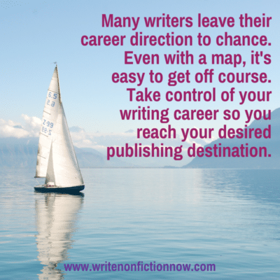 How to Take Control of Your Writing Career