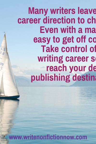 take control of writing career