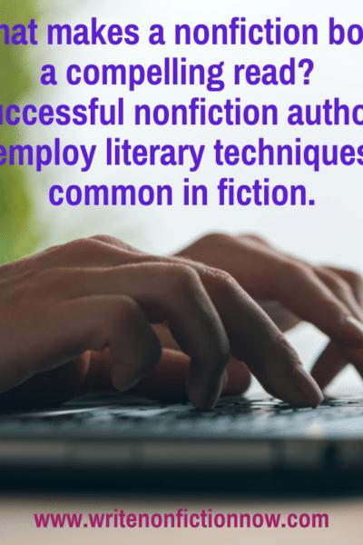 nonfiction writing using fiction tecniques