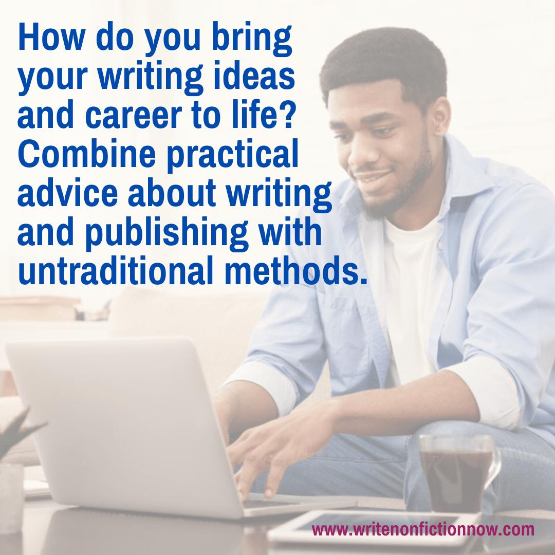 writing ideas and writing career