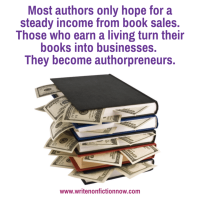 How to Write a Book that helps you Earn a Living