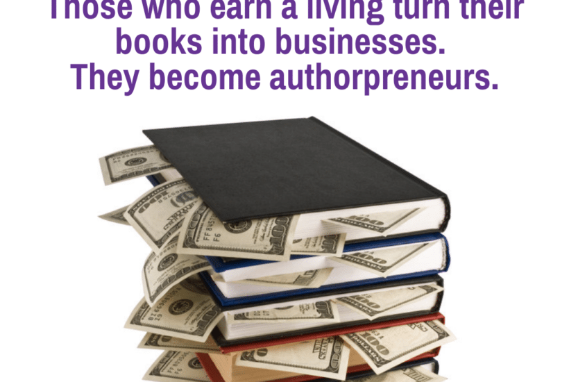 earn a living from your book as an authorpreneur